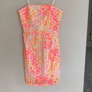 Neon Pink Lilly Pulitzer Dress